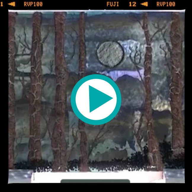 Fused Glass Forest Panel Video Tutorial