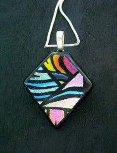 *SOLD OUT* New! Fused Glass Dichroic Jewelry Class Workshop - Saturday, November 11, 2017